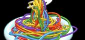 Rainbow Spaghetti Bowl