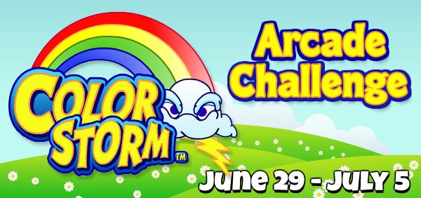Color Storm Arcade Challenge FEATURE