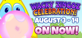 Wacky FEATURE ON NOW