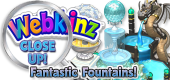 WEBKINZ CLOSE UP - Fountains 4 - Featured