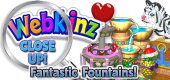 WEBKINZ CLOSE UP - Fountains 5 - Featured