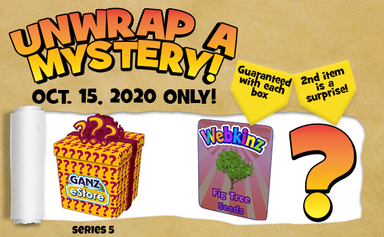 unwrap a surprise mystery package