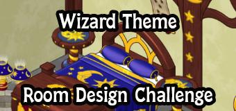 wizard theme room design challenge
