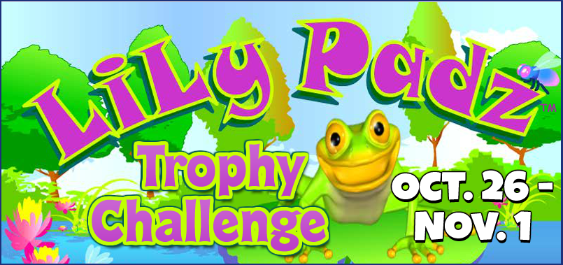 Lily Padz Trophy Challenge FEATURE