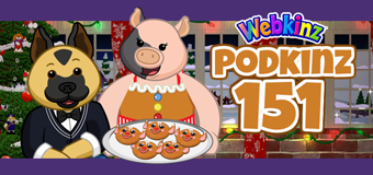 Podkinz Ep 151: Kinzville Bake Sale and Music Shop Giveaway!