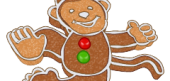 Gingerbread Monkey