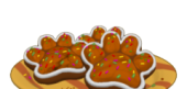 Gingerbread Paw Prints