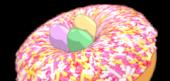 Mini Egg Sprinkled Donut