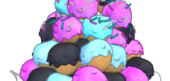 Polka Dot Donut Bits
