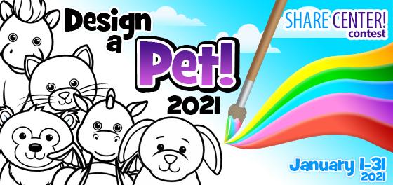 Design a Pet 2021!