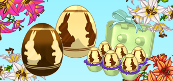 Look For Floating Eggs March 26 - April 4