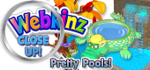 WEBKINZ CLOSE UP - Pools - Featured