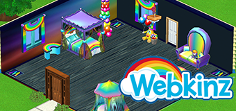 Check out the Celebration Theme on Webkinz Next!