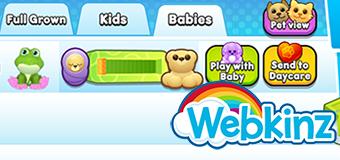 Daycare in Webkinz Next!