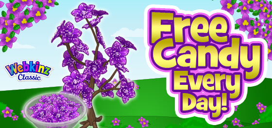 The Sugared Violet Candy Tree is here!