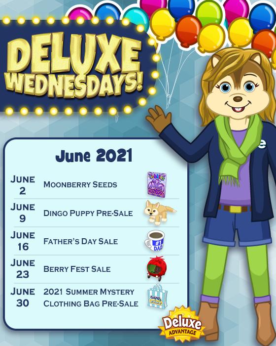 Deluxe Wednesdays June 2021