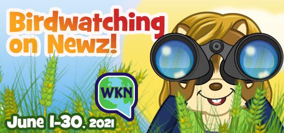 Webkinz Newz Birdwatching Contest!