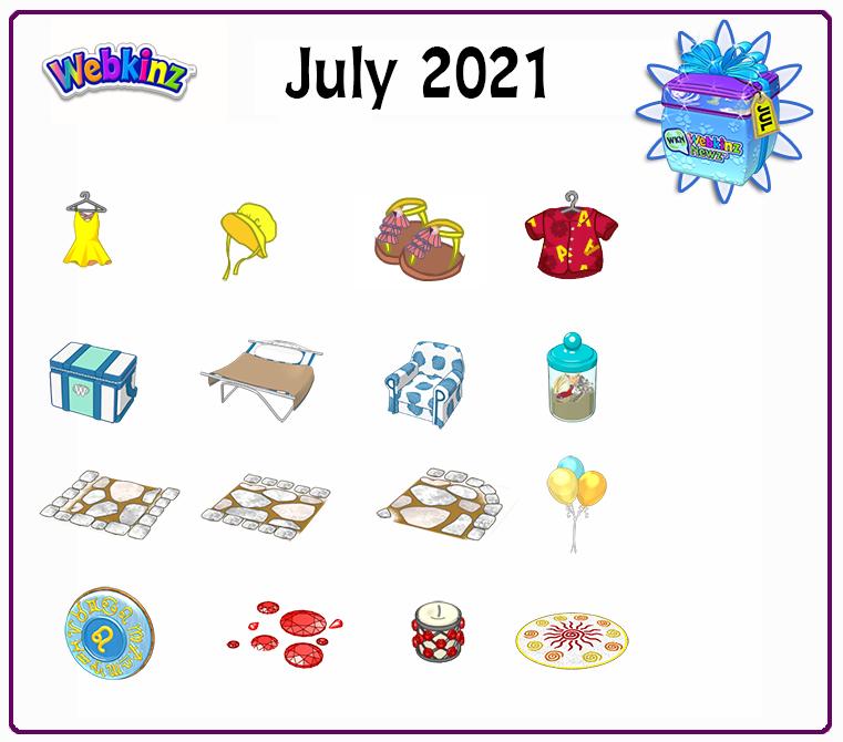 July Prizes