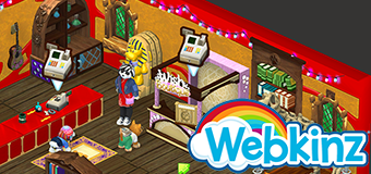Visit the Curio Shop and Hunt for Gems in Webkinz Next!