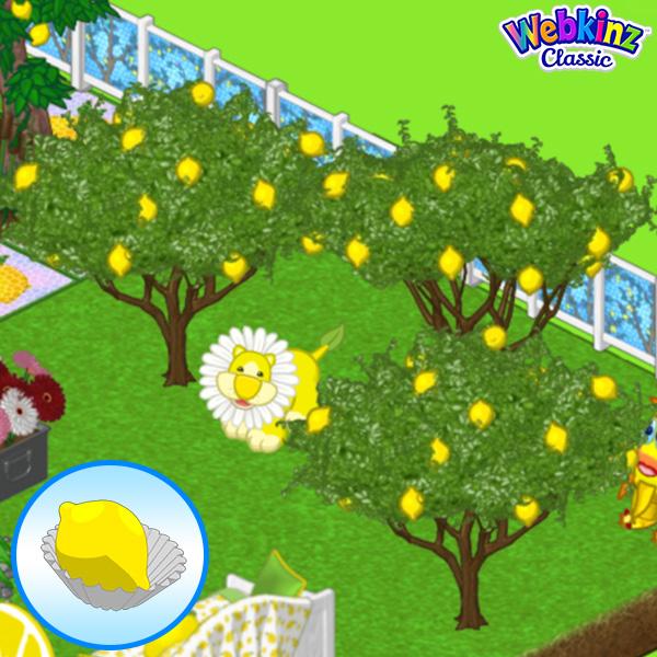 Marzipan Lemon Candy Tree