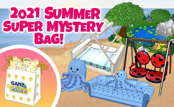 Webkinz 2021 Summer Super Mystery Bag