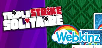 Play Triple Strike Solitaire on Webkinz Next!