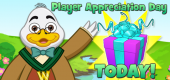 7 JULY Player Appreciation TODAY - FEATURE