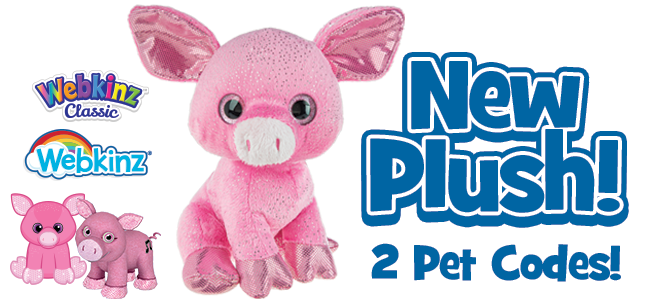You'll be Tickled Pink when You Meet this new Plush Pet!