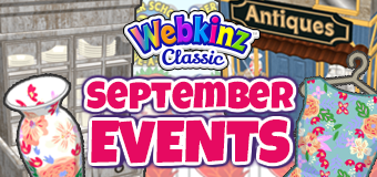 Webkinz Classic Event Calendar - September, 2021