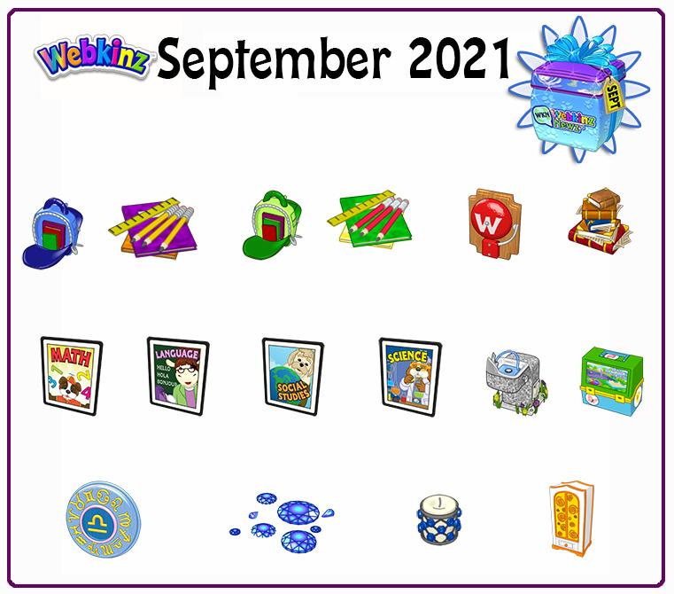 September Prizes