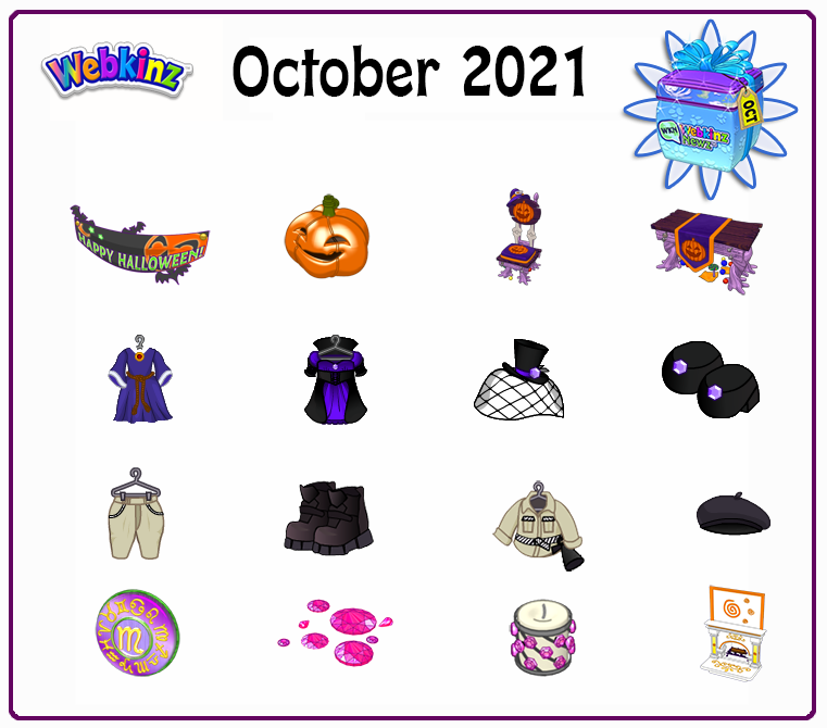 October Prizes