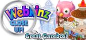 WEBKINZ CLOSE UP - Seasonal Gazebos - Featured