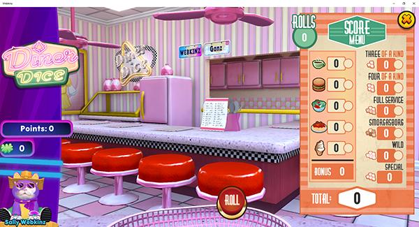 diner dice game