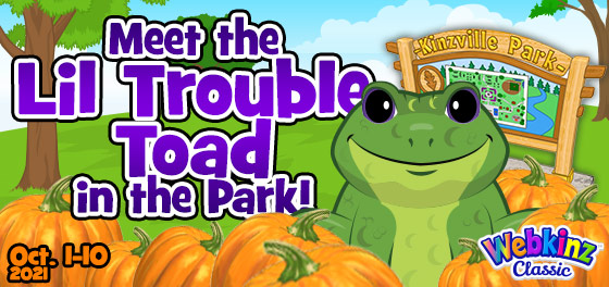 Meet the Lil Trouble Toad in the Park!